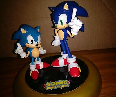 Boxed Sonic the Hedgehog Sonic Generations Limited Edition Statue Only Sega