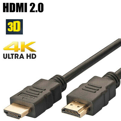 Premium HDMI V2.0 Cable Gold Ultra High Speed 3D HDTV 2160p 4K X2K 3M ( 10 ft )