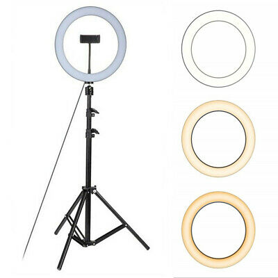 10'' Studio Live LED Ring Light For Phone Selfie Light Beauty Photograph+Triopd