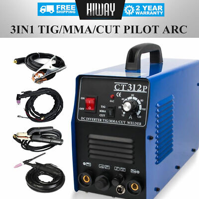 Pilot ARC 3 In 1 TIG/MMA/CUT Air Plasma Cutter Welding Welder-CNC Compatible DIY