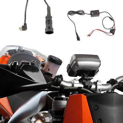 Motorcycle Mount + Charger For Tomtom Rider Pro Urban