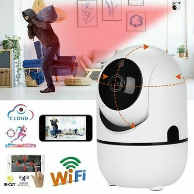 1080P HD Wireless Smart IP WiFi IR Cut Home Security Camera 2 Way Audio Monitor