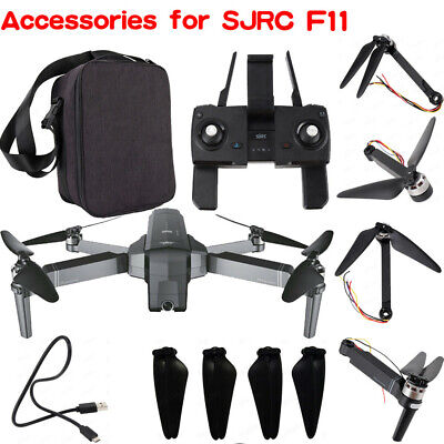 Remote Control / Bag / Motor Arm Repair Parts / Charger Cable for SJRC F11 Drone