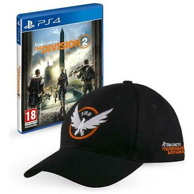 UBISOFT PS4 - Tom Clancy's The Division 2 + Cappellino Ufficiale The Dvision 2 i