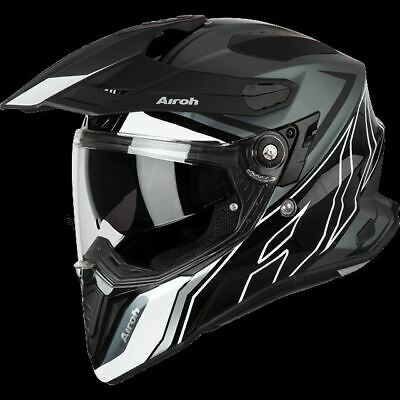 Airoh Casco Commander On Off Duo Gloss/Matt Cmd35 Adventure Touring Honda Bmw
