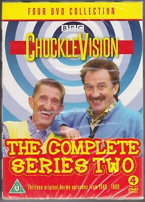 Chuckle Brothers Chucklevision Series 2..new Sealed