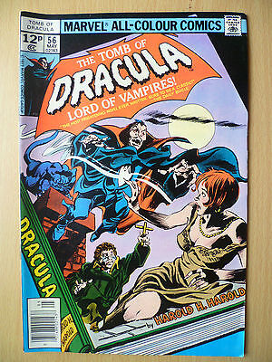 TOMB OF DRACULA LORD OF VAMPIPRES, 1977 Issue Marvel Comics:No 56, Vol.1