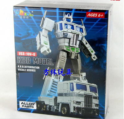 New, Deformation toys the metal version of the MP10V-U white optimus prime alloy