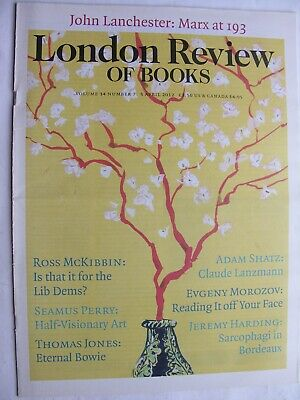 LONDON REVIEW OF BOOKS April 2012 5 Lib Dems Coalition David Bowie Cecil Beaton