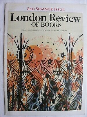LONDON REVIEW OF BOOKS July 2012 Bradley Manning Richard Cobb Hugh Trevor-Roper