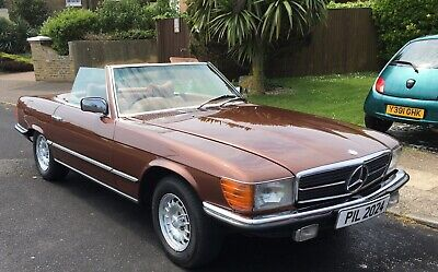 1979 Mercedes 350SL Auto Very Good condition with Soft and Hard Top and Stand