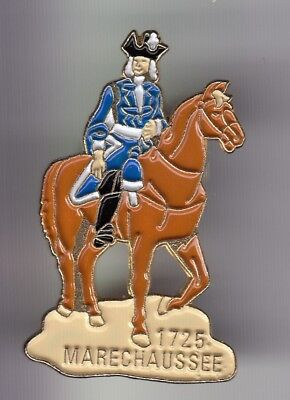 Rare Pins Pin's .. Gendarmerie Nationale Cheval Horse Marechaussee 1725 Or ~Dz