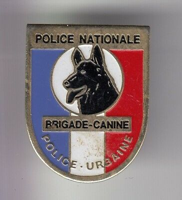 Rare Pins Pin's .. Police Nationale Brigade Canine Chien Unite Cynophilie 2 ~D03