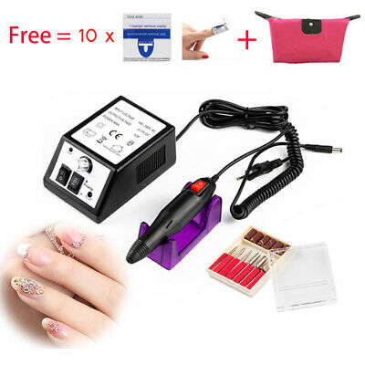 Pro Sander Pen Gundam Nail Art Tools Electric Grinding Machine Nail Polishing