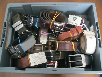 Job Lot of 30 Mostly Mens Belts