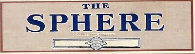 1913 THE SPHERE Newspaper INDIAN 2ND RAJPUT REGT Louis Bleriot SS IMPERATOR 2107