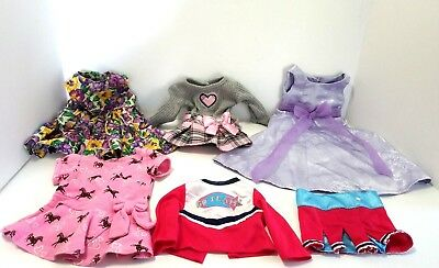 """18"""" Doll Clothes Lot Of 6 Pieces Fits American Girl And Our Generation Dolls"""