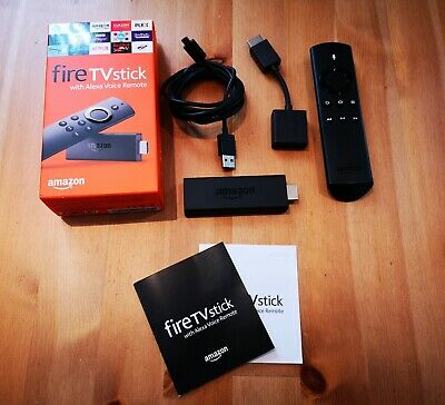 Amazon Fire TV Stick (2nd Generation) with Alexa Voice Remote - Black