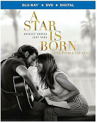 A Star is Born Blu-Ray + DVD + Digital / New Fast Ship! (STEF-385 / SAC)
