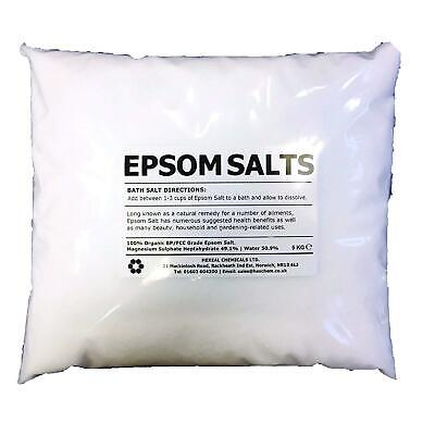 EPSON SALT 10KG BAG 100% Pharmaceutical FCC Food Grade Magnesium Sulphate