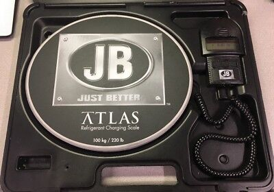 JB - ATLAS REFRIGERANT CHARGING SCALE - 100kg/220lb - FAST SHIPPING!