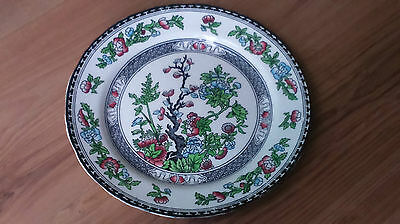 Vintage 1930s Midwinter Salad Small Dinner Plate Indian Tree Pattern VGC