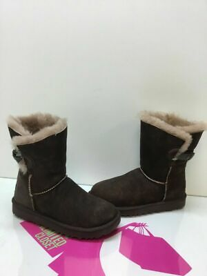 d108553ca14 UGG NASH CHOCOLATE Suede Fur Boots Womens Size 6 *NIB* - $109.95 ...