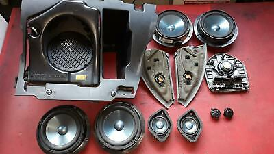 12x Lautsprecher Soundsystem Subwoofer Harman Kardon Mercedes W164 ML M-Klasse