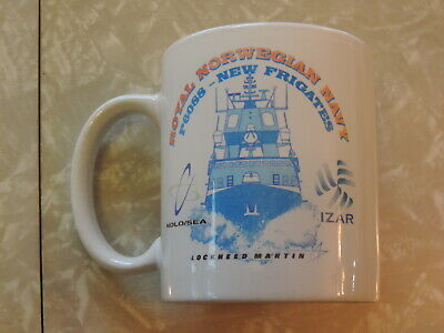 Lockheed Martin Norwegian Navy Frigates Ship NDLO/Sea Spy 1F Radar Coffee Mug