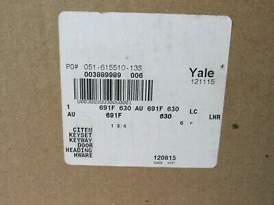 Yale 691F Fail Secure Electrified Lever Trim For Panic Device [CTNO]