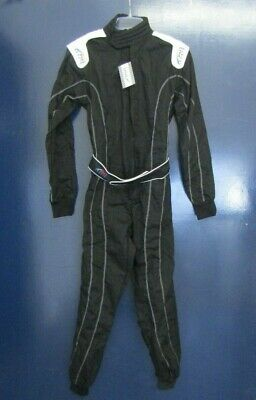 PM SPORTS Go Kart Overall Suit - Black - 170/176 cm