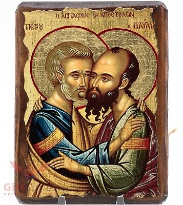 The Holy High Priests Peter And Paul Icon Святые Апостолы Петр И Павел Икона