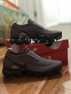 fe84998aac01b Nike W Air Vapormax Flyknit Moc 2 Gunsmoke Blackened Blue AJ6599-003 Size 5