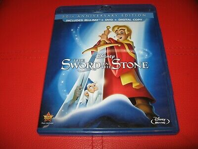 The Sword in the Stone Blu-Ray DVD Disney 30th Anniversary edition