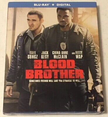 Blood Brother (Blu-Ray + Digital, 2019) Trey Songs -Brand New *Free Shipping*