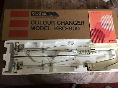 Machine Knitting BROTHER DOUBLE BED COLOUR CHANGER KRC900 VGC / Boxed