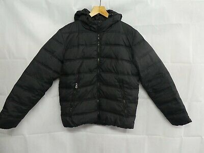 new product 832f4 fbc22 JACK JONES BROWN Warm Quilted Coat Size M MEDIUM padded ...