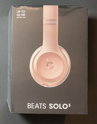 Beats by Dr Dre Solo3 Wireless Headphone [ Rose GOLD Edition ] NEW