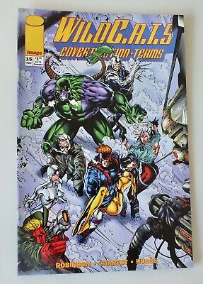 WIldcats - Covert Action Teams - Issue # 15 - Image Comics - 1994 - NM/VF (957)