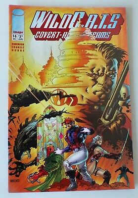 WIldcats - Covert Action Teams - Issue # 16 - Image Comics - 1994 - NM/VF (958)