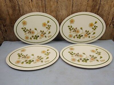 Set of 4 Marks & Spencer St Michael Autumn Leaves Table Oval Place Mats