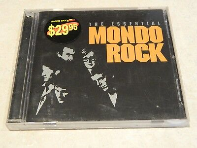 Mondo Rock The Essential 2CD [Ft: No Time, Come Said The Boy, Cool World]