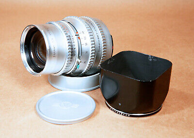 Hasselblad Carl Zeiss Sonnar 150mm f/4 Chrome Silver V-Mount Portrait Lens Hood!