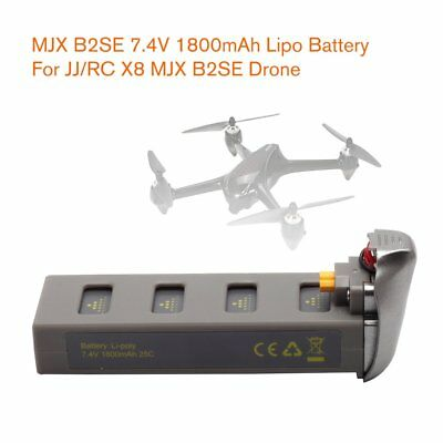 MJX B2SE 7.4V 1800mAh High-capacity Lipo Battery for JJR/C X8 MJX B2SE Drone DB