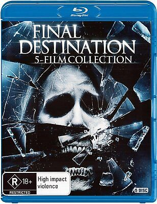 FINAL DESTINATION :THE COMPLETE 5 FILM COLLECTION -   BLU RAY  - Sealed Region B