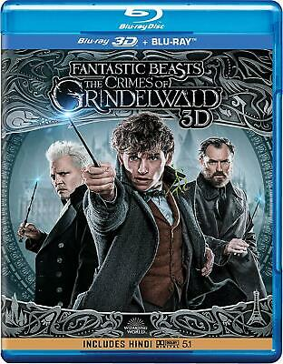 Fantastic Beasts: The Crimes of Grindelwald (3D + Blu-ray + Extended Cut) 3 Disc