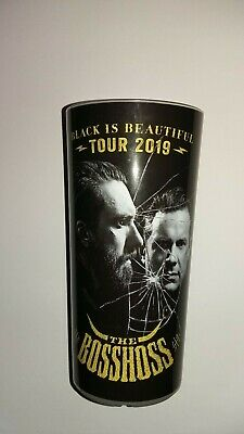 The BossHoss Tour-Becher 2019 - BLACK IS BEAUTIFUL Tour 2019 0,5l