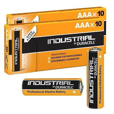 20 Batterie Duracell Industrial Mini Stilo AAA 1,5V Alcaline 20 Pz Micro LR03