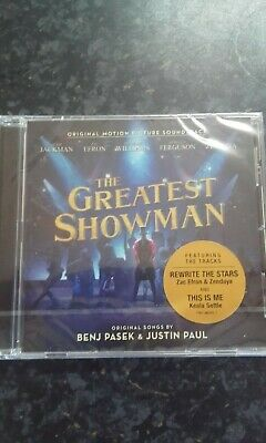 The Greatest Showman CD Album. ** Brand New/Sealed **