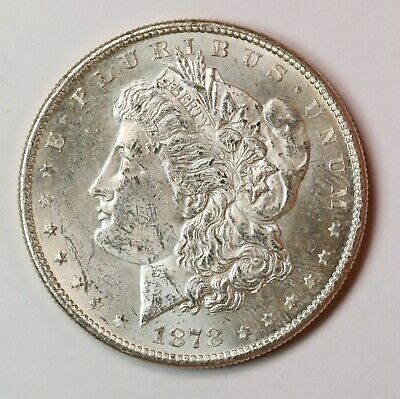 Raw 1878-S Morgan $1 Uncertified Ungraded San Francisco Mint Silver Dollar Coin
